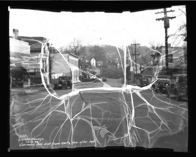 Street Improvement Photographs -- Box 50, Folder 09 (November 6, 1936 - December 4, 1936) -- negative, 1936-12-04