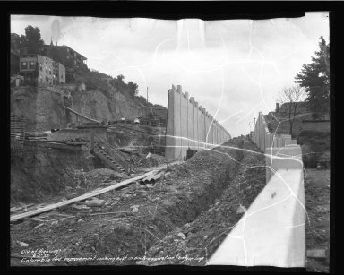 Street Improvement Photographs -- Box 50, Folder 10 (June 5, 1937) -- negative, 1937-06-05