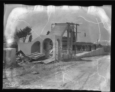 Street Improvement Photographs -- Box 50, Folder 12 (August 10, 1937 - August 31, 1937) -- negative, 1937-08-31