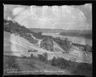 Street Improvement Photographs -- Box 50, Folder 13 (September 1, 1937 - September 3, 1937) -- negative, 1937-09-03