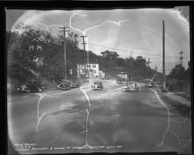 Street Improvement Photographs -- Box 50, Folder 14 (September 4, 1937) -- negative, 1937-09-04