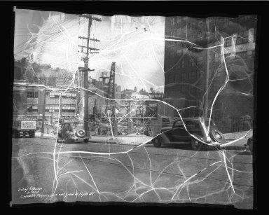Street Improvement Photographs -- Box 50, Folder 15 (September 13, 1937 - September 16, 1937) -- negative, 1937-09-13