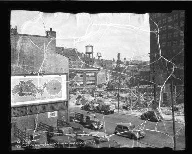 Street Improvement Photographs -- Box 50, Folder 15 (September 13, 1937 - September 16, 1937) -- negative, 1937-09-13