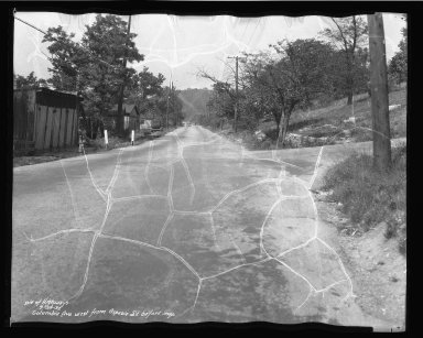 Street Improvement Photographs -- Box 50, Folder 16 (September 24, 1937 - September 28, 1937) -- negative, 1937-09-24