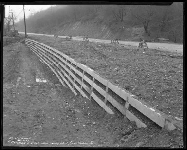 Street Improvement Photographs -- Box 50, Folder 17 (November 12, 1937 - December 28, 1937) -- negative, 1937-12-28