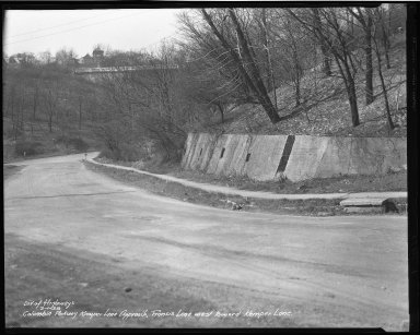 Street Improvement Photographs -- Box 50, Folder 18 (March 1, 1938) -- negative, 1938-03-01
