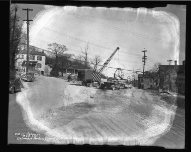 Street Improvement Photographs -- Box 50, Folder 20 (March 28, 1938) -- negative, 1938-03-28