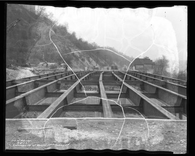 Street Improvement Photographs -- Box 50, Folder 21 (April 4, 1938 - April 6, 1938) -- negative, 1938-04-06