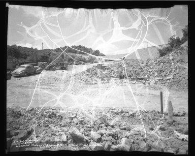 Street Improvement Photographs -- Box 50, Folder 22 (May 2, 1938 - June 27, 1938) -- negative, 1938-05-02