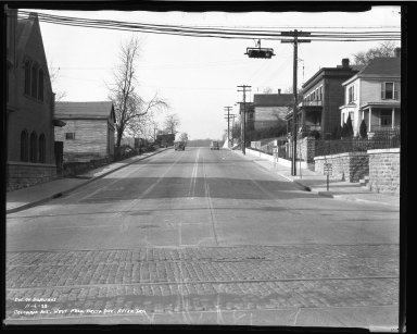 Street Improvement Photographs -- Box 50, Folder 23 (November 6, 1938 - November 7, 1938) -- negative, 1938-11-06