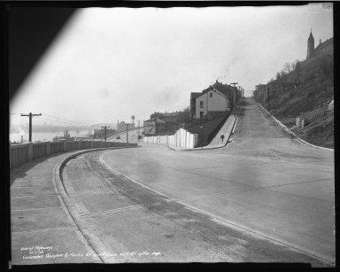 Street Improvement Photographs -- Box 50, Folder 23 (November 6, 1938 - November 7, 1938) -- negative, 1938-11-07