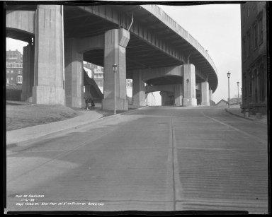Street Improvement Photographs -- Box 50, Folder 25 (November 6, 1938 - November 7, 1938) -- negative, 1938-11-06