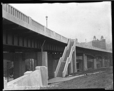 Street Improvement Photographs -- Box 50, Folder 27 (November 15, 1938 - November 21, 1938) -- negative, 1938-11-19
