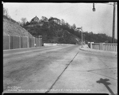 Street Improvement Photographs -- Box 50, Folder 28 (November 21, 1938) -- negative, 1938-11-21