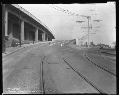 Street Improvement Photographs -- Box 50, Folder 29 (November 21, 1938 - November 30, 1938) -- negative, 1938-11-30