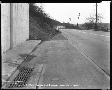Street Improvement Photographs -- Box 50, Folder 31 (March 17, 1941 - September 26, 1941) -- negative, 1941-03-18