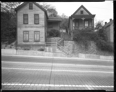 Street Improvement Photographs -- Box 50, Folder 31 (March 17, 1941 - September 26, 1941) -- negative, 1941-05-06