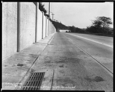 Street Improvement Photographs -- Box 50, Folder 31 (March 17, 1941 - September 26, 1941) -- negative, 1941-09-26
