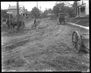 Street Improvement Photographs -- Box 50, Folder 33 (Undated) -- negative, 1929
