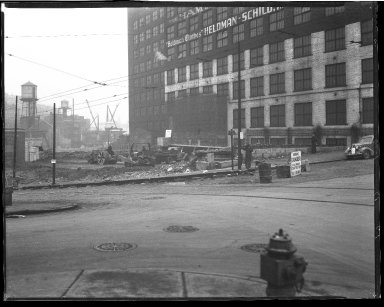 Street Improvement Photographs -- Box 50, Folder 37 (Undated) -- negative, 1937