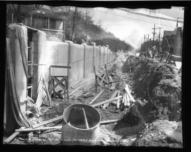 Street Improvement Photographs -- Box 50, Folder 40 (Undated) -- negative, 1937