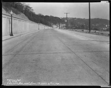 Street Improvement Photographs -- Box 51, Folder 03 (October 10, 1930 - December 27, 1932) -- negative, 1930-10-19