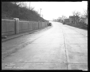 Street Improvement Photographs -- Box 51, Folder 03 (October 10, 1930 - December 27, 1932) -- negative, 1932-12-27