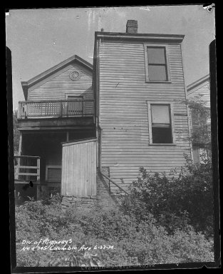 Street Improvement Photographs -- Box 51, Folder 04 (September 12, 1932 - June 23, 1934) -- negative, 1934-06-23