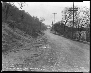 Street Improvement Photographs -- Box 51, Folder 05 (April 29, 1932) -- negative, 1932-04-29