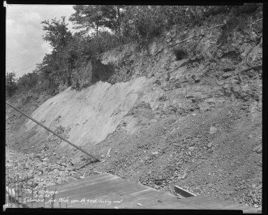 Street Improvement Photographs -- Box 51, Folder 07 (August 25, 1932 - December 9, 1932) -- negative, 1932-08-25