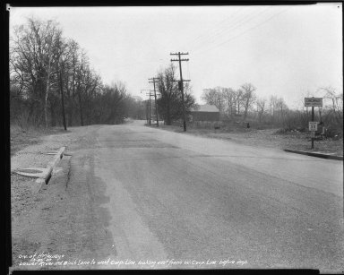 Street Improvement Photographs -- Box 51, Folder 08 (March 20, 1939) -- negative, 1939-03-20