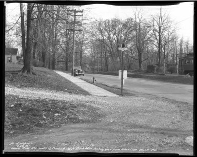 Street Improvement Photographs -- Box 51, Folder 09 (March 28, 1939) -- negative, 1939-03-28