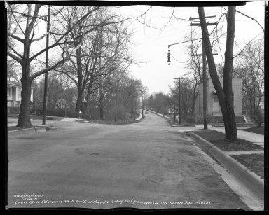 Street Improvement Photographs -- Box 51, Folder 09 (March 28, 1939) -- negative, 1939-03-28