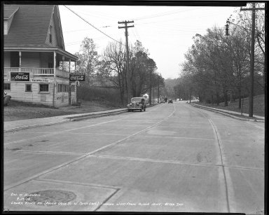 Street Improvement Photographs -- Box 51, Folder 10 (September 13, 1939) -- negative, 1939-09-13