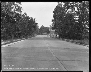 Street Improvement Photographs -- Box 51, Folder 10 (September 13, 1939) -- negative, 1939-09-13