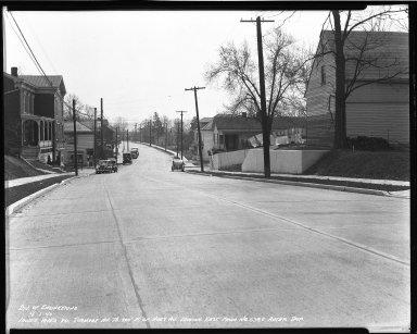 Street Improvement Photographs -- Box 51, Folder 12 (April 1, 1940 - April 7, 1940) -- negative, 1940-04-01