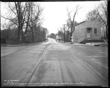 Street Improvement Photographs -- Box 51, Folder 12 (April 1, 1940 - April 7, 1940) -- negative, 1940-04-01