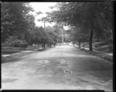 Street Improvement Photographs -- Box 51, Folder 13 (Undated) -- negative, 1940