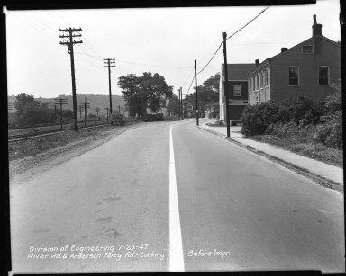 Street Improvement Photographs -- Box 51, Folder 14 (July 25, 1947 - December 16, 1948) -- negative, 1947-07-25