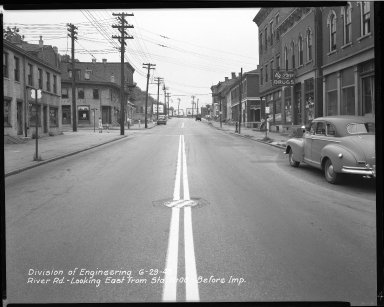 Street Improvement Photographs -- Box 51, Folder 16 (June 29, 1949) -- negative, 1949-06-29