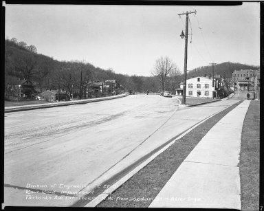 Street Improvement Photographs -- Box 51, Folder 19 (February 27, 1951) -- negative, 1951-02-27