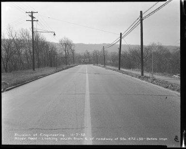 Street Improvement Photographs -- Box 51, Folder 29 (November 7, 1952) -- negative, 1952-11-07