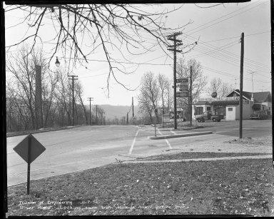Street Improvement Photographs -- Box 51, Folder 30 (November 7, 1952) -- negative, 1952-11-07