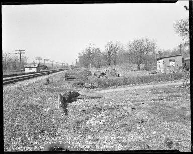 Street Improvement Photographs -- Box 51, Folder 51 (February 18, 1954) -- negative, 1954-02-18