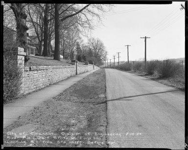 Street Improvement Photographs -- Box 51, Folder 52 (February 18, 1954 - May 17, 1955) -- negative, 1954-02-18