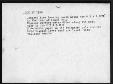 Miscellaneous Photographs -- Box 53, Folder 15 (Court Case Photos) -- print, 1920-07-27 (back of photograph)