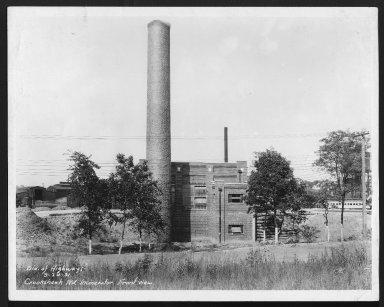 Miscellaneous Photographs -- Box 53, Folder 16 (Crook Shank Road Incinerator) -- print, 1931-09-24