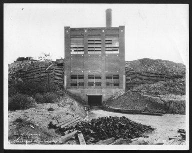 Miscellaneous Photographs -- Box 53, Folder 16 (Crook Shank Road Incinerator) -- print, 1931-09-25