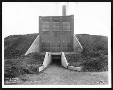Miscellaneous Photographs -- Box 53, Folder 16 (Crook Shank Road Incinerator) -- print, 1932-04-12