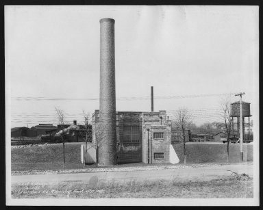 Miscellaneous Photographs -- Box 53, Folder 16 (Crook Shank Road Incinerator) -- print, 1932-04-12
